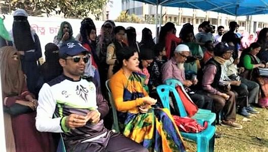 আনন্দমোহন কলেজে চলছে বঙ্গবন্ধু ক্রিকেট টুর্নামেন্ট