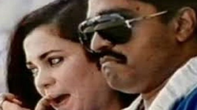 দাউদ ইব্রাহিম ও তার স্ত্রী মেহেজবিন