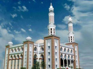 ময়মনসিংহে নির্মিত 'মদিনা মসজিদ'